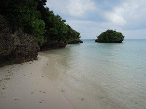 20. Wading around Kabira Bay.